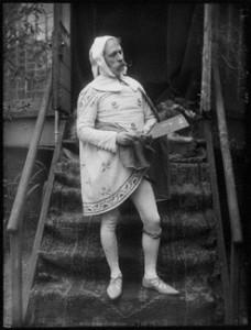 NPG x131224; Walter Crane as Cimabue by Sir Emery Walker