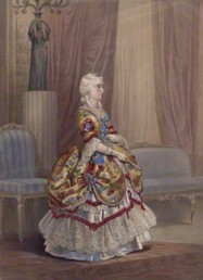 NPG D8157; Queen Victoria possibly by and possibly after Louis Haghe
