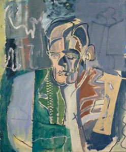 NPG 4467; T.S. Eliot by Patrick Heron
