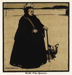 H.M. The Queen 1899 by Sir William Nicholson 1872-1949
