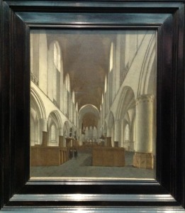 Nickelen, 'Interior of St Bavo', c1660