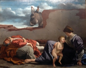 Gentileschi, 'Rest on the Flight into Egypt', 1621
