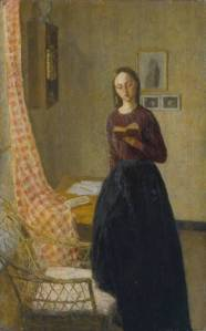 A Lady Reading 1909-11 Gwen John 1876-1939 Presented by the Contemporary Art Society 1917 http://www.tate.org.uk/art/work/N03174