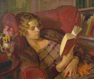 The Artist's Wife 1933 Henry Lamb 1883-1960 Presented by the Trustees of the Chantrey Bequest 1934 http://www.tate.org.uk/art/work/N04749