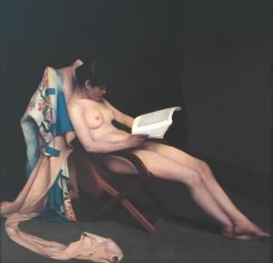 The Reading Girl 1886-7 Théodore Roussel 1847-1926 Presented by Mrs Walter Herriot and Miss R. Herriot in memory of the artist 1927 http://www.tate.org.uk/art/work/N04361