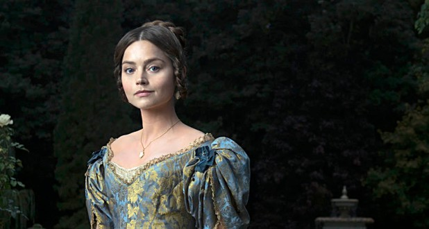 From Mammoth Screen Victoria on ITV Pictured: Queen Victoria [Jenna Coleman]. This photograph is (C) ITV and can only be reproduced for editorial purposes directly in connection with the programme or event mentioned above or ITV plc. Once made available by ITV plc Picture Desk, this photograph can be reproduced once only up until the transmission [TX] date and no reproduction fee will be charged. Any subsequent usage may incur a fee. This photograph must not be manipulated [excluding basic cropping] in a manner which alters the visual appearance of the person photographed deemed detrimental or inappropriate by ITV plc Picture Desk. This photograph must not be syndicated to any other company, publication or website, or permanently archived, without the express written permission of ITV Plc Picture Desk. Full Terms and conditions are available on the website www.itvpictures.com For further information please contact: patrick.smith@itv.com / 0207 157 3044