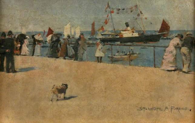 Forbes, Stanhope Alexander, 1857-1947; Penzance Regatta Day