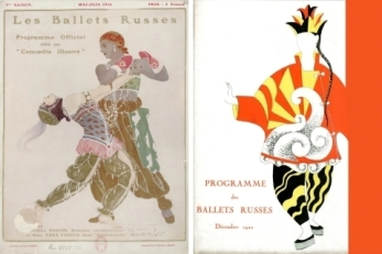 Ballet-Russes-programme-covers-190109